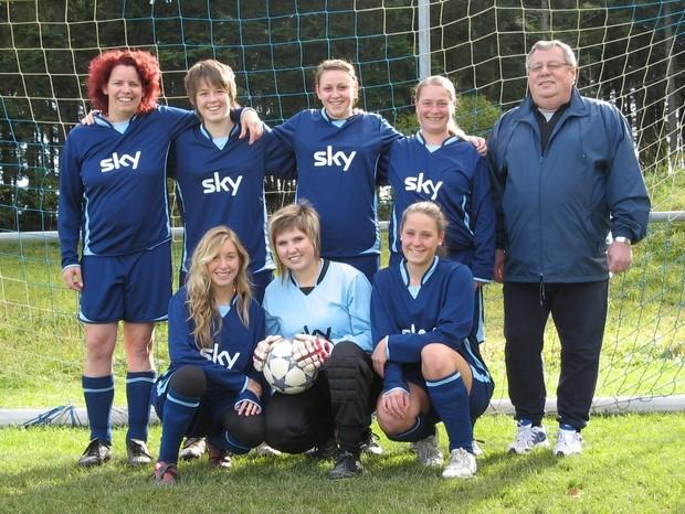 Damenmannschaft 2011/2012
