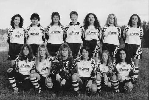 Damenmannschaft 1996