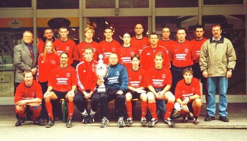 1. Mannschaft Aufstieg 2002/2003